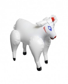Мини-кукла овечка Travel Size Lovin' Lamb Blow Up Doll