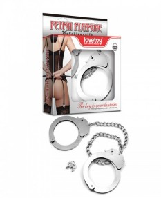 Поножи FETISH PLEASURE METAL LEG CUFFS