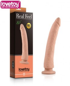 Фаллос Real Feel Silicone Dildo телесный
