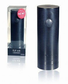 Мастурбатор TENGA FLIP-AIR LITE SOLID BLACK черный