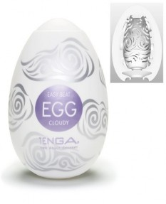 Мастурбатор яйцо Tenga Egg Cloudy
