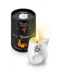 Свеча с массажным маслом Манго и Ананас 80 мл., MASSAGE CANDLE PINEAPPLE MANGO 80ML