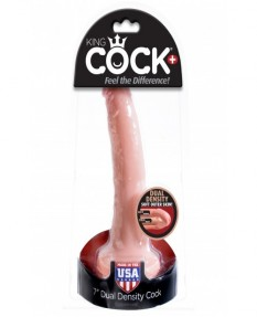 "Фаллоимитатор King Cock Plus 7"" Dual Density Cock"