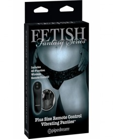 Вибро-трусики FFS Limited Edition Remote Control Vibrating Panties Plus Size