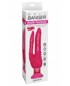 Двойной вибратор Waterproof Wall Bangers Double Penetrator