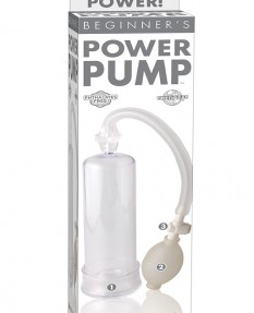 Ручная вакуумная помпа для мужчин с грушей Beginner's Power Pump