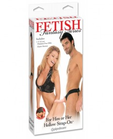 Фаллопротез FFS For Him or Her Hollow Strap-On - Flesh