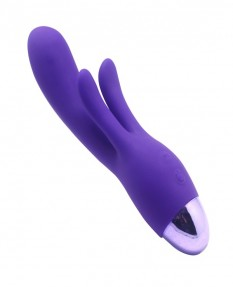 Вибратор INDULGENCE Rechargeable Frolic Bunny purple