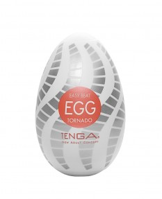 Яйцо-мастурбатор Tenga Easy Beat Egg Tornado, 6х5 см